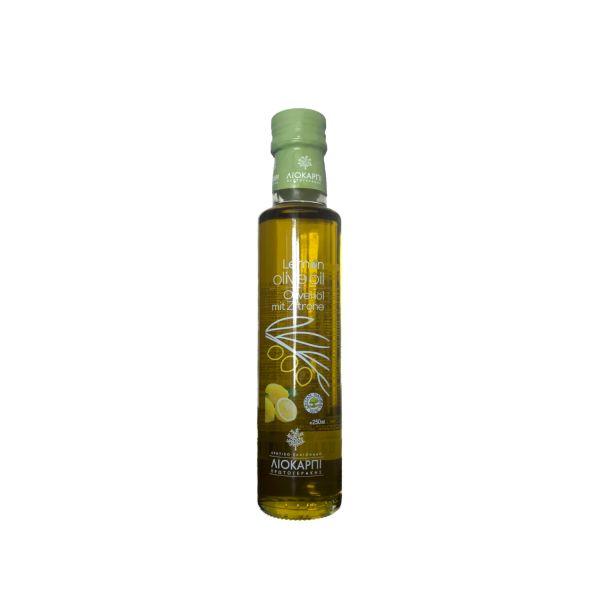 Kretisches Olivenöl Liokarpi mit Zitrone verfeinert