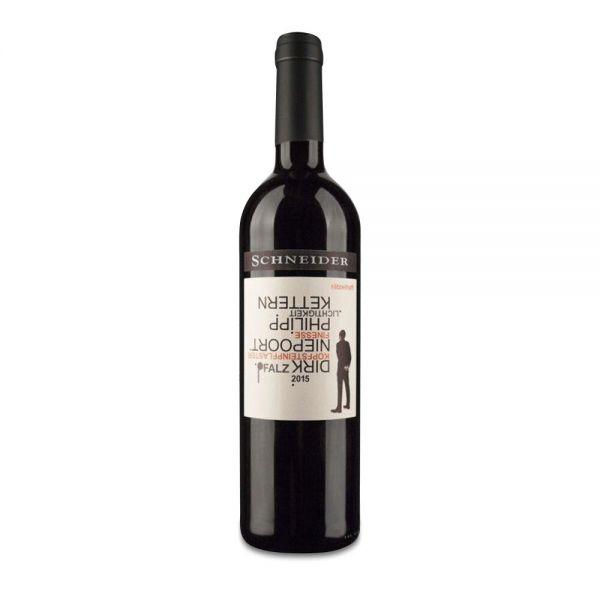 rätzelhaft rot 2015 Fio Weinmanufaktur