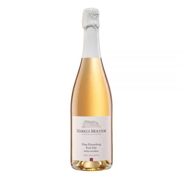 Haus Klosterberg Sekt Pinot Noir Rosé extra trocken Markus Molitor