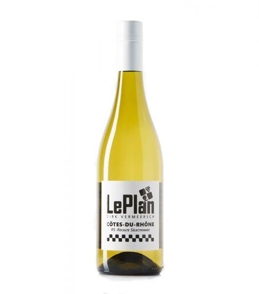 LePlan RS Blanc Côtes Du Rhône 2020 Vermeersch